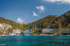 Sea stacks 'Maria Rosa' in Ponza   Ponza Island, Italy   #stockphotos #gettyimages #print #travel