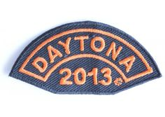 Orange Rocker Daytona Bike Week 2013 Patch