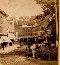 Yonkers, Broadway 1880