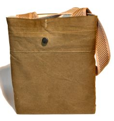 3932f0a267d0  35.00 Hipster Purse Made from Recycled Military Tent (Waxed Cotton Canvas)  with Handmade Leather