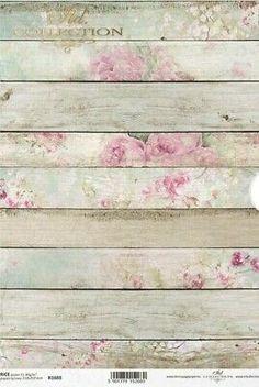 Rice Paper Decoupage, Decoupage Glass, Decoupage Vintage, Decoupage Box, Decoupage Furniture, Shabby Look, Shabby Chic, Decorative Paper Crafts, Paper Mulberry