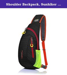 Shoulder Backpack, Sunhiker C822 Casual Cross Body Bag Outdoor Sling Bag Chest Pack with Adjustable Shoulder Strap for Cycling Hiking Camping Travel and Men Women. Product Specification: -Material: water-repellent and tear-resistant Nylon(D210) -Color:black,blue,green,orange,red,purple -Dimension: 15.4*7.1*3.9 Inch (H*L*W) -Gender: Suitable for both men and women Product Feature: -Water-repellent and tear-resistant nylon material. -Can be used both as chest pack and shoulder bag. -It will…