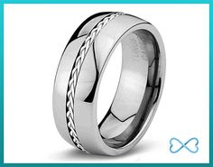 When ordinary, plain and simple is not enough, consider sporting a tungsten carbide band!  All of our rings are comfortable to wear and further