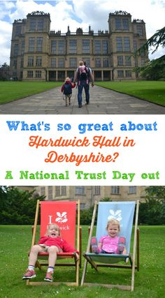 A review of a family day out at Hardwick Hall in Derbyshire - a National Trust property built by Bess of Hardwick a formidable widow in Elizabethan England