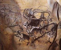 The 30,000 year old paintings in the Chauvet Cave