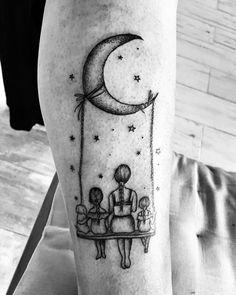 Moms Tattoo Ink, Mom Dad Tattoos, Tattoo For Son, Tattoos For Kids, Small Tattoos, Mother Tattoos For Children, Mother Daughter Tattoos, Tattoos For Daughters, Mom Tattoo Designs