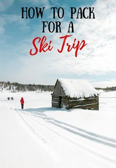 This ski trip packing list covers all of the must-have essentials to keep you warm, comfortable, safe, and prepared out on the slopes! #skivacation #wintertravel #packinglist