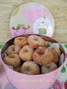Rosquillas de Mamá Rosa Donuts, Pan Dulce, Pasta, Spanish Food, Flan, Deli, Doughnut, Desserts, Recipes