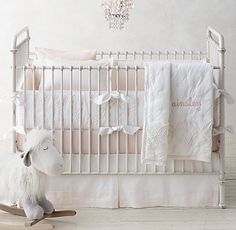Double Ring Appliqué Nursery Bedding Collection | Restoration Hardware Baby & Child
