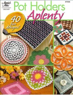Pot Holders Прихватки - 3Tatayna- embroidery, knitting - Picasa Web Albums...THIS IS A FREE BOOK WITH PATTERNS!!