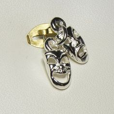 Buy Comedy and Tragedy Charm (chr-0013) online at Chain Me Up