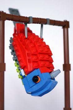 oiseau lego