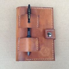 Leather Expedition Journal - made from high quality, 100% natural leather and hand made in the USA.-SR