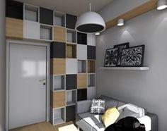 Mieszkanie z ludowym akcentem 60 m2 - Biuro, styl nowoczesny - zdjęcie od CKkwadrat