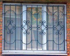 Window Grill Design Modern, House Window Design, Balcony Grill Design, Grill Door Design, House Gate Design, Front Door Design, Iron Windows, Iron Doors, Steel Grill Design