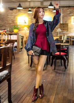 #fashion #style #stylish #TagsForLikes #beauty #instagood #instafashion #pretty#girl #styles #jacket#chuu
