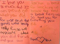 Give a teacher a break