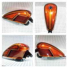 Harley-Davidson XL Evolution® Sportster gas tank painted by Joe Ford from End Fab