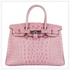 Hermes Birkin Bag  The most ladylike thing I can think of.