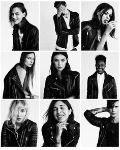 AllSaints, Biker Portraits - make from friends