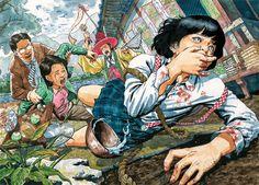 상황표현 연구작 애니스타 - Google 검색 Korean Art, Asian Art, Character Art, Character Design, Perspective Art, Psy Art, Illustration Art, Illustrations, Art Inspo