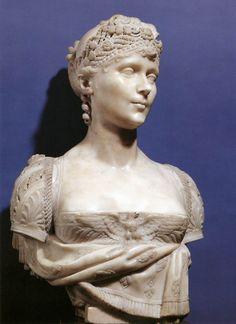 CHINARD, Joseph Bust of Empress Josephine 1805-06 Marble, height 67 cm Musée du Château, Malmaison  Source:centuriespast