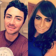 Boy to Girl Transformation transgender crossdresser bigender Male To Female Transgender, Transgender Girls, Female Male, Male To Female Transition, Mtf Transition, Lgbt, Gender Change, Male To Female Transformation, Crossdressers