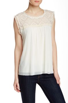 Weston Wear - Chloe Sleeveless Blouse at Nordstrom Rack. Free Shipping on orders over $100.