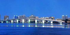 RINGLING BRIDGE..contects Sarasota with St. Armands Circle
