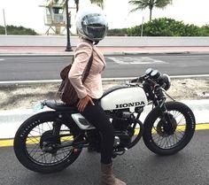Custom Honda CB200t @anama0430