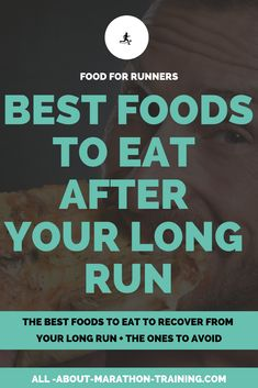 Here's a list of foods for runners that you should eat after finishing a long run to promote quicker recovery! Marathon Diet, Marathon Nutrition, Half Marathon Tips, Half Marathon Motivation, Running For Beginners, How To Start Running, Beginner Half Marathon Training, Beginner Runner Tips, Running Diet