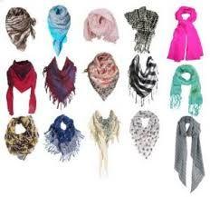 Resultado de imagem para lenços de pescoço como usar