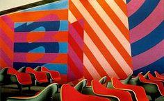 Fort Worth room, braniff airways 1968
