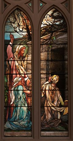 Incarnation Episcopal Church, Victory Over Death Stained Glass Window by Louis Comfort Tiffany, New York City | Flickr - Photo Sharing!