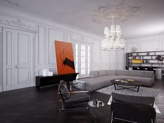 living room by Alex Kozynets, via Flickr