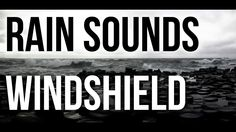 The sound of rain on a car windshield, recorded by Squared Glasses; royalty-free, and comes with free download.