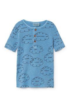 Bobo Choses Clouds Buttons T-Shirt