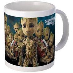 GOTG Groot Faces Mug on CafePress.com