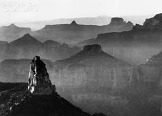Grand Canyon National Park, Arizona, 1941 Ansel Adams➕➖ Art And Ideas➕More Pins Like This At FOSTERGINGER @ Pinterest ➖✖️