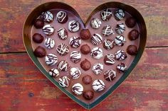 Lucia's Chocolate Truffles And Girl Talk   Nora Murphy Country House
