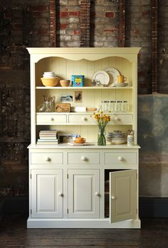 Dresser Freestanding Storage Kitchen Dream Country Painted Furniture