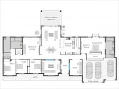 Bronte Executive Lodge floor plan