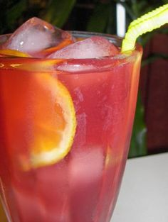 unsweetened Rasberry Iced Tea from Food