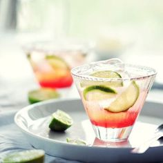 In honor of #NationalVodkaDay try this #delicious recipe : vodka + cranberry juice + top with soda water or club soda and to finish, garnish with freshly sliced limes and enjoy