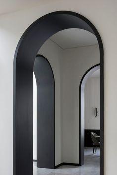 Arch Interior, Home Interior Design, Interior And Exterior, Interior Decorating, Arched Doors, Windows And Doors, Architecture Details, Interior Architecture, Residential Architecture