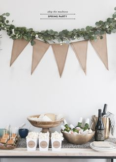 Chic & Casual March Madness Party - Earnest Home co.