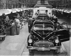 Buick assembly line