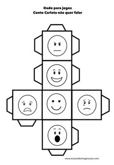 Make an emotion dice. Throw it and talk about times when you have felt like this. Emotions Preschool, Teaching Emotions, Feelings Activities, Counseling Activities, Social Emotional Learning, Montessori Activities, Feelings And Emotions, Teaching Activities, Social Skills