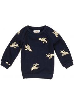 Eb & Vloed Sweater Flying Fish
