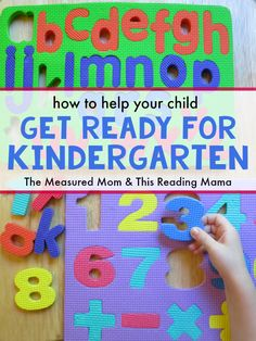 Is your child ready for kindergarten? This series has a lot of simple activities you can do at home - from sorting and matching to reading aloud. Great ideas for parents and kids to do together! Letter Sound Activities, Preschool Math Games, Rhyming Activities, Homeschool Kindergarten, Preschool Learning, Learning Activities, Preschool Ideas, Homeschooling, Kindergarten Readiness